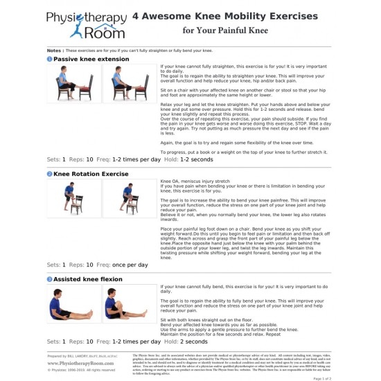 4 Awesome Knee Mobility Exercises