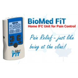 BIOMED® FIT - Interferential Current (IFC) and Russian Muscle Stimulator
