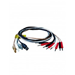 Multi-colour Quadstar Electrode Lead Wires