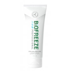 BioFreeze Professional Colourless Pain Relieving Gel, 4 Ounce Tube