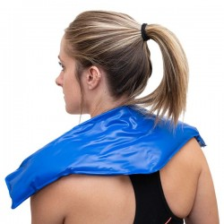 BodyMed Blue Vinyl Flexible Neck Cold Pack 23""