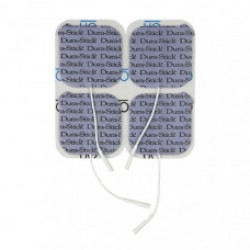 "Dura-Stick Plus Electrodes - 2"" x 2"" square (4 pack)"