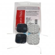 """Dura-Stick Electrodes - 2"""" x 2"""" square (4 pack)"""