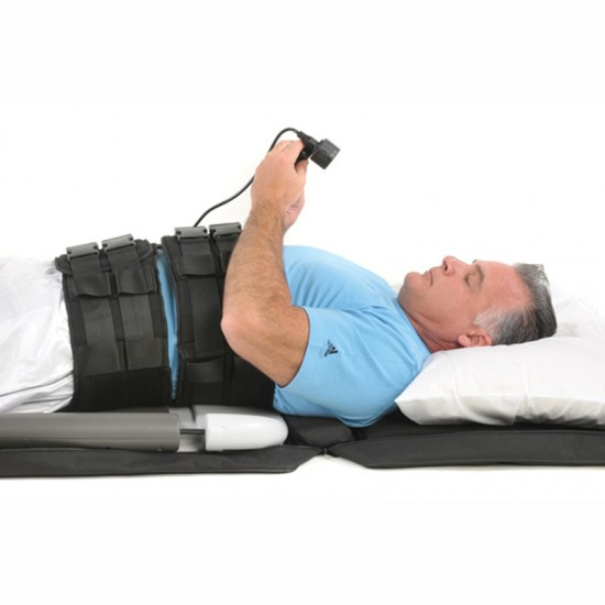 Saunders Lower Back Home Traction Device