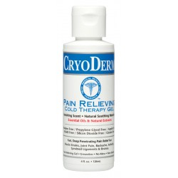 CryoDerm Pain Relieving Cold Therapy Gel - 4oz Bottle