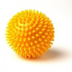 Foundation Yellow Spiky Round Massage Ball