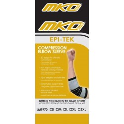 MKO Elite Epi-Tek Compression Elbow Sleeve