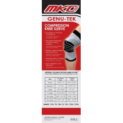 MKO Elite Genu-Tek Compression Knee Sleeve