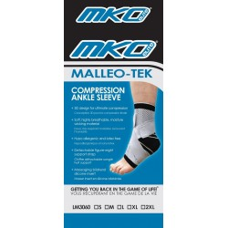 MKO Elite Malleo-Tek Compression Ankle Sleeve