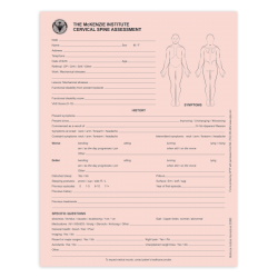 Cervical Spine Assessment Forms - McKenzie Institute
