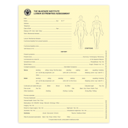Lower Extremities Assessment Forms - McKenzie Institute
