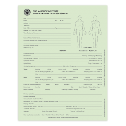 Upper Extremities Assessment Forms - McKenzie Institute