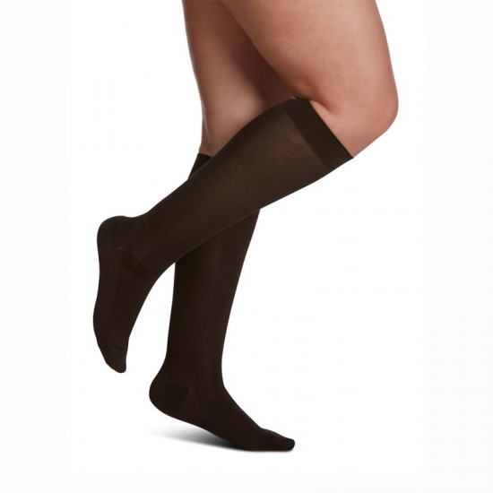 Sigvaris Zurich Collection Sea Island Cotton Socks for Women