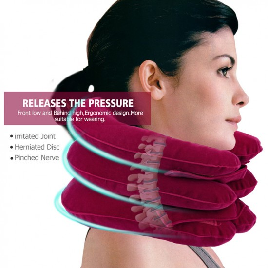 Physiotherapy Room Inflatable Neck Traction Unit