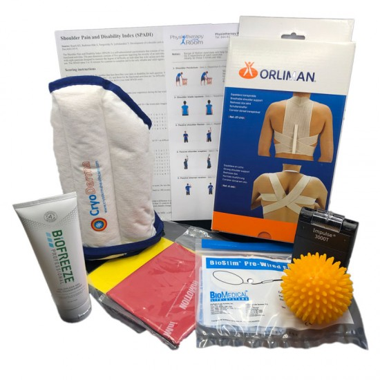 Neck/Shoulder Muscle Strain Home Physiotherapy Kit