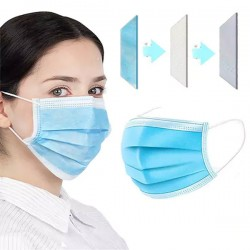 Premium Earloop Protective Medical Masks - 50 pack