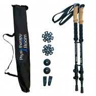 Walking Poles - Aluminum by Physiotherapy Room