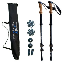 Professional Walking Poles -  Carbon Fibre