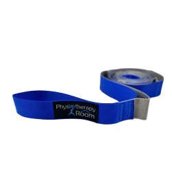 Range of Motion (ROM) Stretching Strap with Exercise Chart