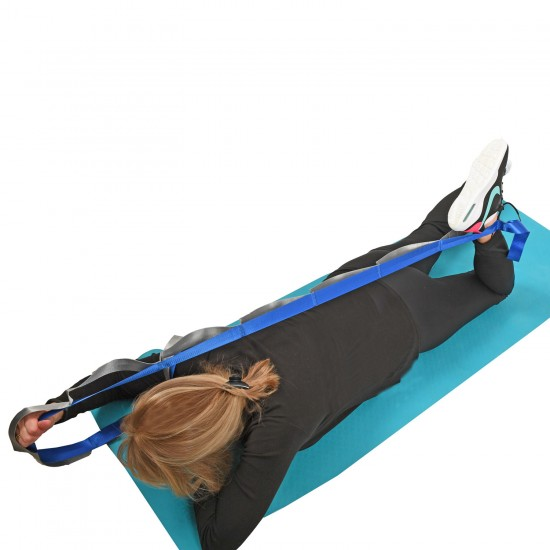 Physiotherapy Room Stretch-N Strap with Exercise Chart
