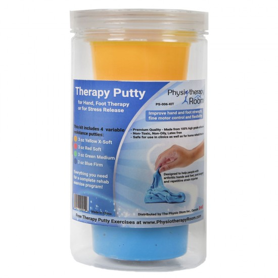 Exercise Therapy Putty - 3 oz by Physiotherapy Room